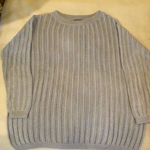 DKNY Light Blue Sweater Women's Size M
